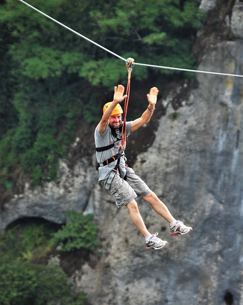 Zip Lining Adverture Sports Near Mumbai
